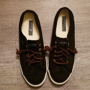 Sperry topsider canvas sneakers sz 7